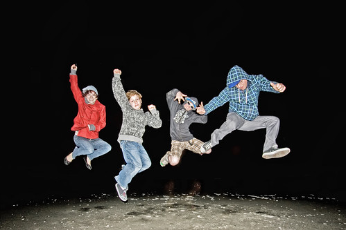 family red beach boys night dance jump uncle flash flats jeans nephew jacket freeze myrtle sweatshirt leap heyitscorie coriehowell
