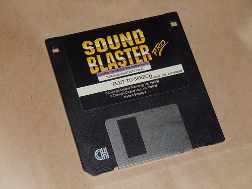 Sound Blaster Pro - Text to speech