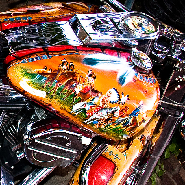 Harley Davidson Paint Schemes For Walls