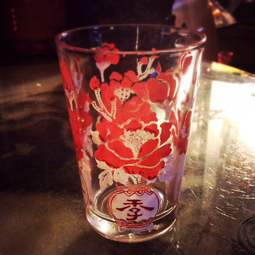 vintage, chinese, drinking, glass, cups, four seasons of peace
