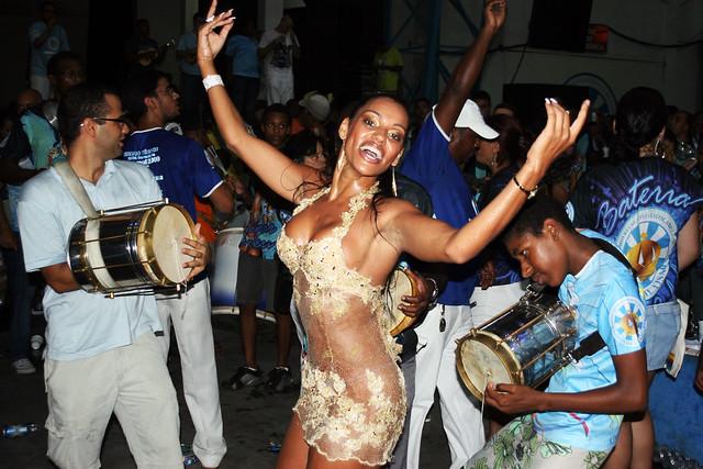 Last Rehearsal Samba School, before to the Carnival Parade.