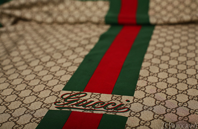 Gucci rag or bed sheet flickr photo sharing for Gucci car interior fabric for sale