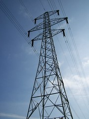 electrical supply, overhead power line, line, transmission tower, electricity, tower, public utility,