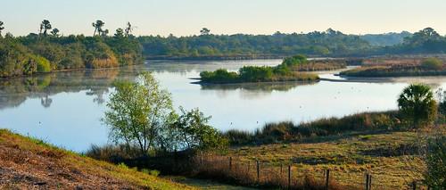 water sunrise river little manatee d60