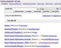 Boston All Jobs Classifieds Craigslist Flickr Photo Sharing