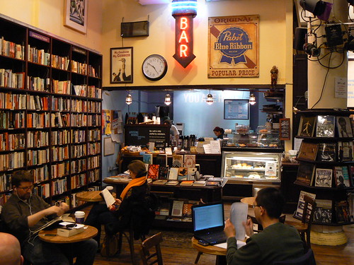 Housing Works Bookstore Cafe, Crosby St