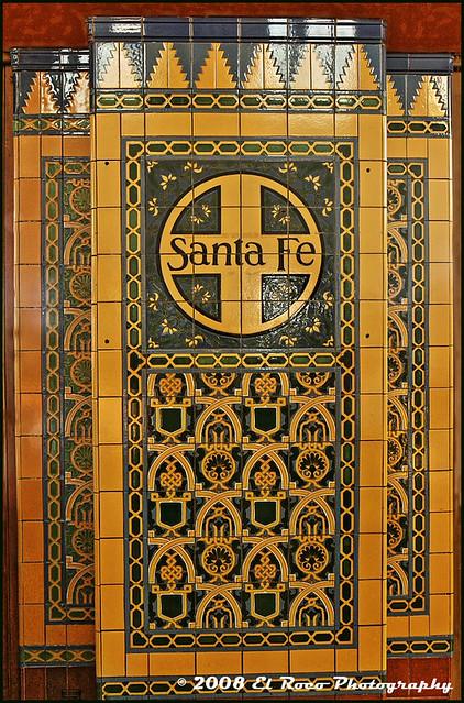 Santa Fe Wall Mosaic - San Diego