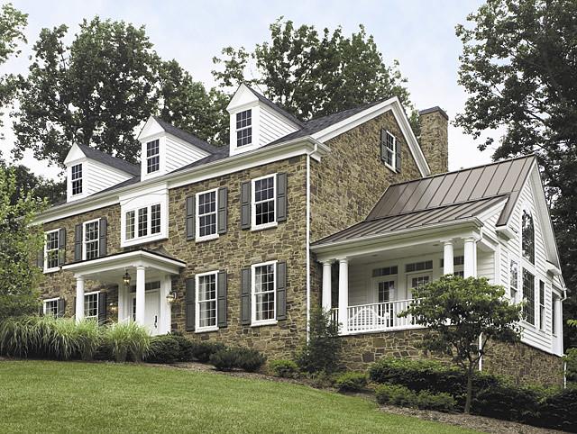 Eldorado stone flickr photo sharing - Contemporary colonial house plans property ...