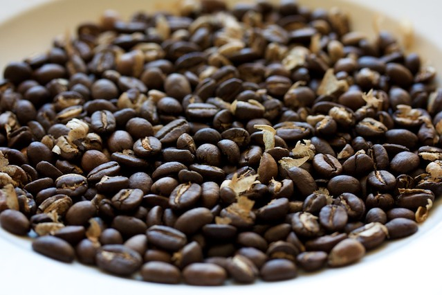 home roasted coffee beans