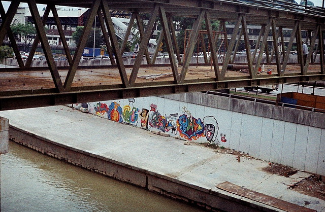 The works of the unsung graffiti artists