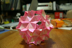 art, art paper, origami, flower, paper, origami paper, craft, pink,