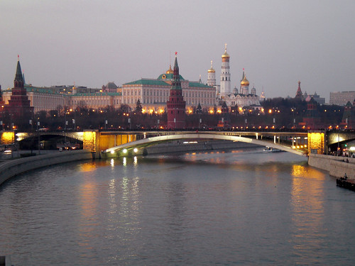 Dusk on the Moscow River