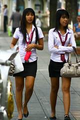 Students in Bangkok