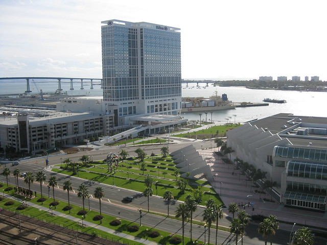 San Diego Convention Center and Hilton
