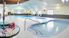Carriage Ridge Resort's Indoor Pool in Barrie, Ontario