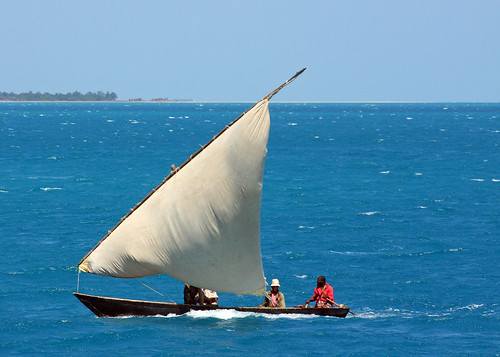 Dhow off of Zanzibar Coast by Bobcatnorth (Away)