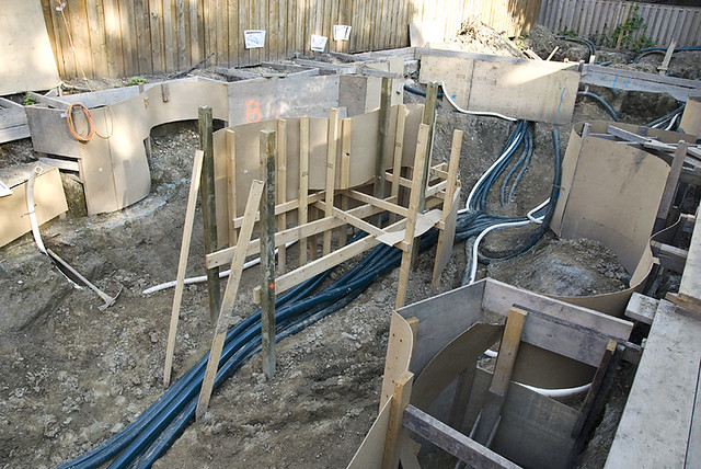 Koi Pond Construction Plumbing 2 Flickr Photo Sharing
