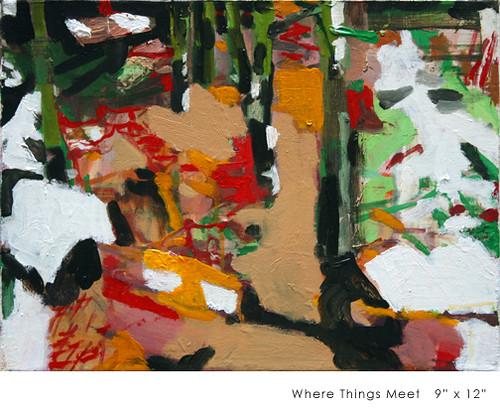 """Allison Gildersleeve """"Where Things Meet"""""""