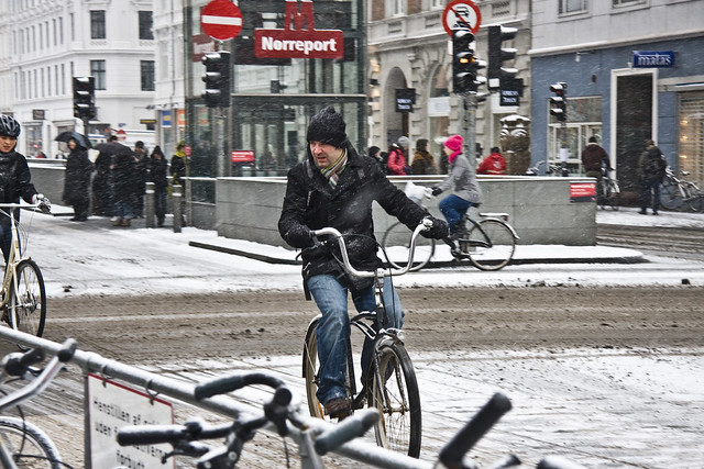 Winter Cruiser - Cycling in Winter in Copenhagen