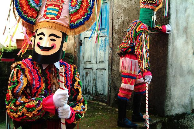 Boteiros en Vilariño de Conso - Spanish -  Galicia - Carnival