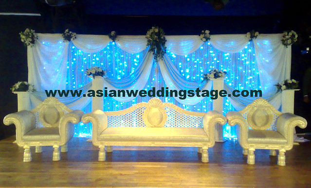 We are quality Asian wedding stage provider with decorating experience