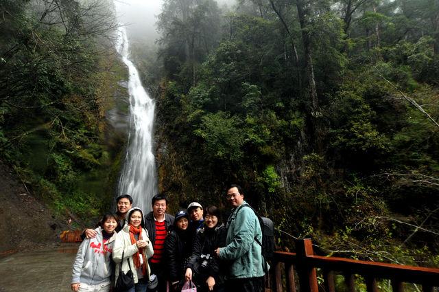 武陵農場-桃山瀑布