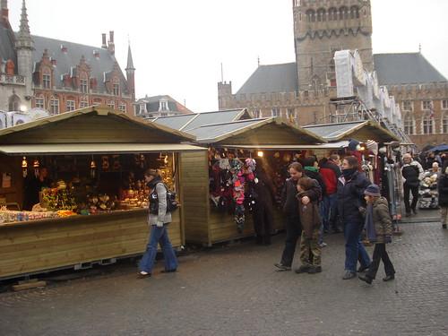 Bruges Christmas Market, Belguim