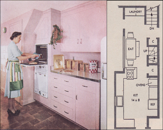 1951 RB Wills Pink Kitchen Take 2 Flickr Photo Sharing