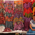 Colorful Guatemalan Trajes (Clothes) - Totonicapan, Guatemala