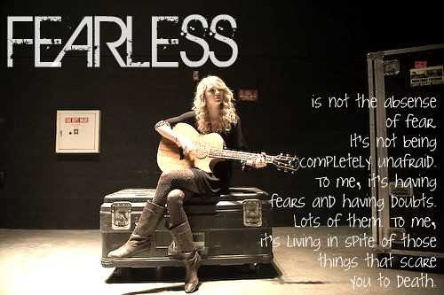 Fearless Taylor Swift Quote: Flickr - Photo Sharing