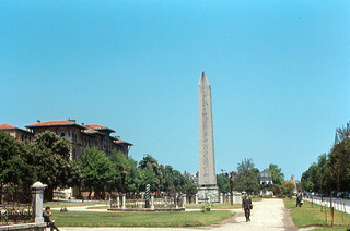 Image de Colonne serpentine. turkey roman istanbul egyptian 1967 constantinople hippodrome serpentcolumn oelisk