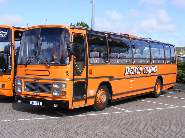 Skelton Coaches: HIL2156 Leyland Leopard/Plaxton | Flickr ...