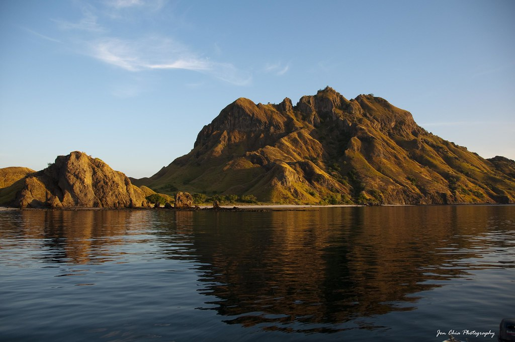 Sunrise on Komodo