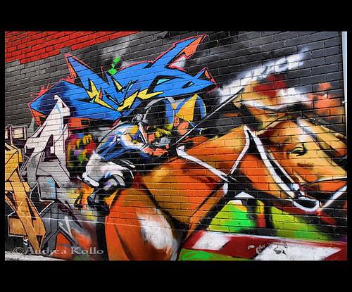 Graffiti Alley in Toronto {Queen West}