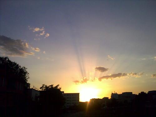 city sunset sky cloud sun daybreak