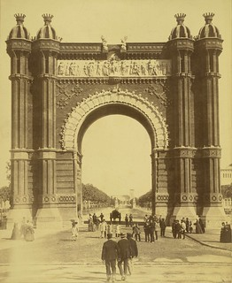 Barcelona. Triumphal Arch of the Exposition