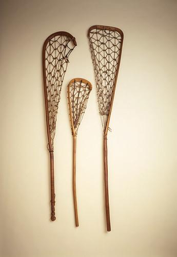 19th Century Cayuga Lacrosse Bats