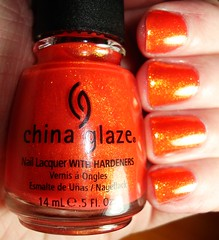 China Glaze Orange Marmalade