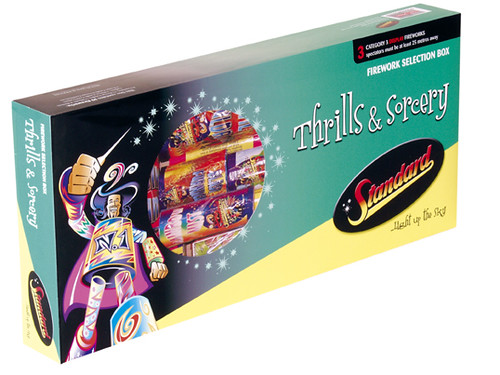 Thrills and Sorcery Selection Box by Standard Fireworks ...