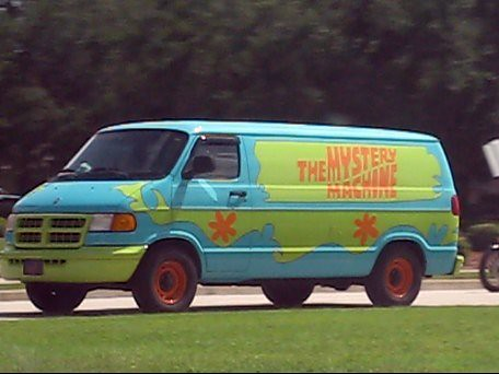 Scooby Doo Mystery Machine Van http://www.flickr.com/photos/formerwmdriver/3773001510/