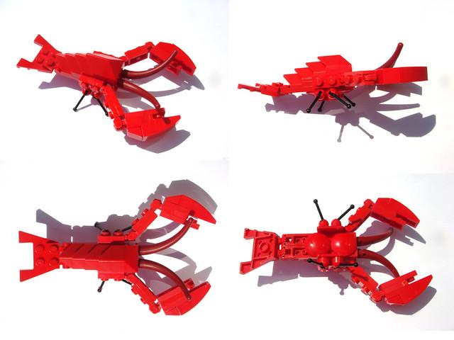 Lego Mmmb August 2009 Lobster Flickr Photo Sharing