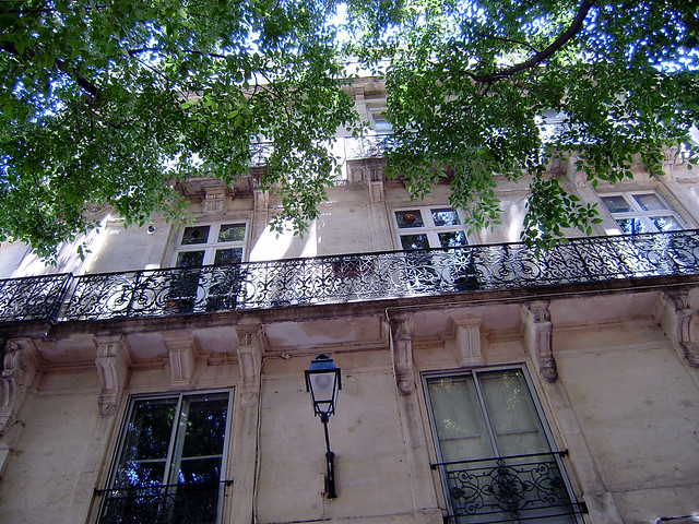 montpellier apartments lots of iron railing in montpellier flickr photo sharing. Black Bedroom Furniture Sets. Home Design Ideas