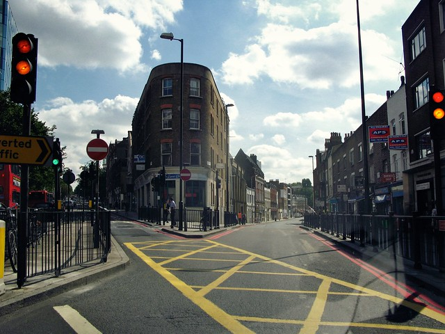 King's Cross Road, London
