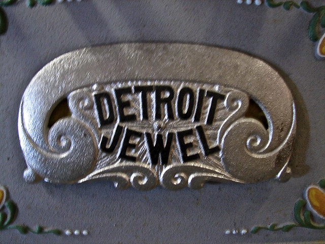 1930's Detroit Jewel Gas Stove/Oven - Antiques, Art and