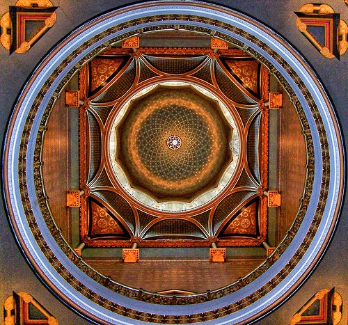 Connecticut State Capitol ~ Hartford Connecticut ~ Interior Dome