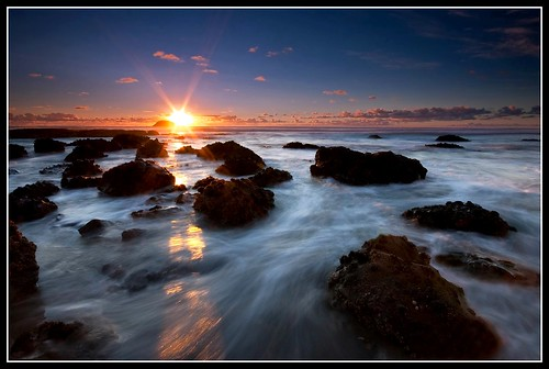 longexposure sunset newzealand beach auckland filter nz nd dri graduated muriwai maoribay