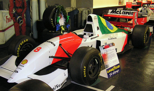Mclaren MP4/8 - Ayton Senna