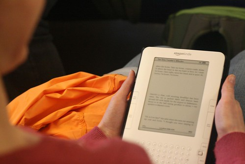 Is it true that a Kindle can encourage children to read?