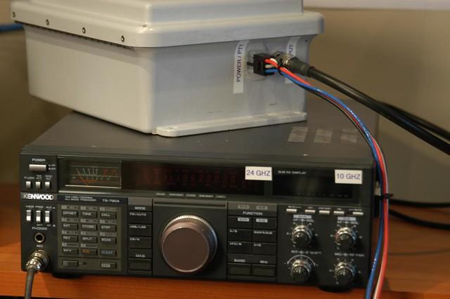 10 / 24 GHZ Radio (converted TS-790A) | Robb Kunz | Flickr