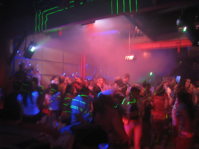 Blue nightclub in El Poblado